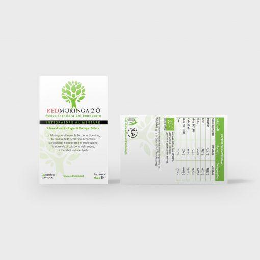 REDMORINGA 2.0 - 2 confezioni - Informazioni nutrizionali