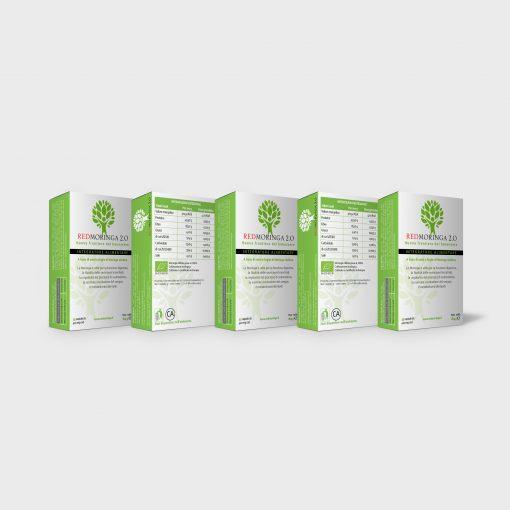 REDMORINGA 2.0 - 5 Confezioni da 45 capsule